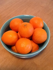 fruit bowl at office