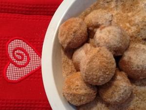 coated donut holes