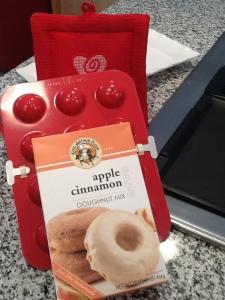 KA Cinn Apple donut mix and pan
