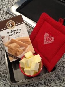 KA shortbread cookie mix