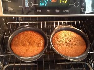 KA Carrot cake baked-oven
