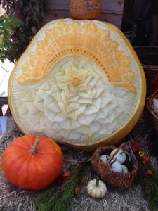 fair art caraved pumpkin