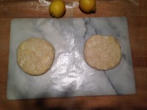 Dough discs