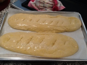 Ready for oven-flat