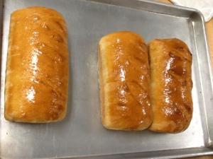Basic White Bread loaves