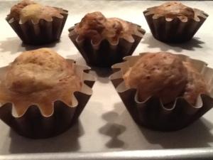 Brioche-Petites Brioches a tete baked
