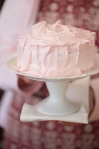 Pink Frosting on Chocolate Cake-7672